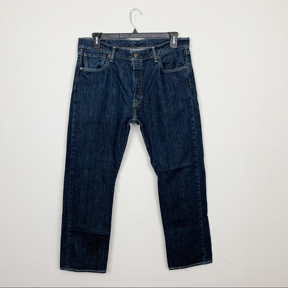 Levi's Other - Levi's 501 Relaxed Straight Leg Jeans Size 36x30